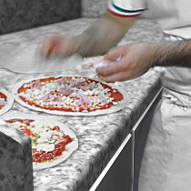 Table de travail pizza
