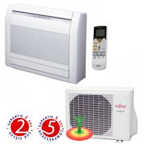 Fujitsu: Airco-heater, type sol (de 2,6 à 4,2 kW)
