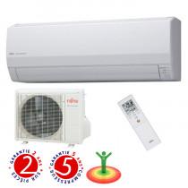 Fujitsu: Airco-heater, type mural (3.0 à 5.0 kW)