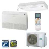 General: Airco-Heater, type sol & plafond (de 5,2 à 7,1 kW)