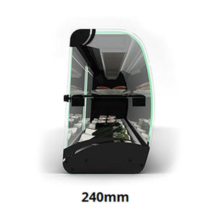 vitrine slim id ale pour sushi. Black Bedroom Furniture Sets. Home Design Ideas